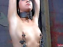 Gagged and bounded babe needs wild muff gratifying