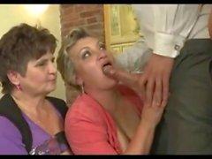 3 Grannies vs Cock