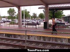 TeenPies Chick Gets Creampie For Revenge