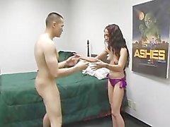 Brutal Femdom Ball Busting 06 - Scene 2