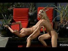 two bikini girls fuck in pool part3 porn2s
