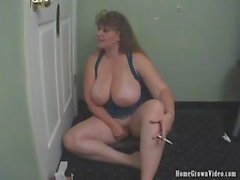 HomegrownVideos - BBW Cheryl Works Multiple Cocks At A Glory Hole