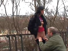 Hot babe gets fucked out of town