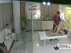I undertiteln angivna den japanska schoolgirl förebilden hopeful rumpa massagen
