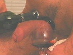 Balls in dark wine