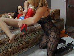 Seductress Hypnotizes Wonder Woman