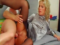 Fully Cothed - Rip Those Pantyhose And Give It A Go