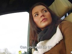 Vanessa Decker hitchhikes and pounded