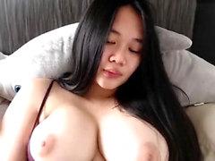 Nettes Babe Webcam Dildo spielen