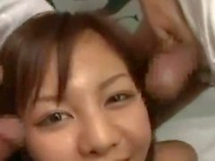 It Rains Jizz On This Japan Teen