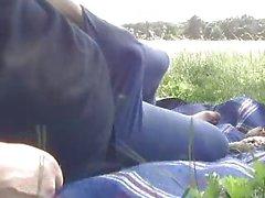 Horny in Public Park