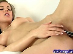 perky young blonde pissing