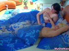 Granny нянька лесбийское действие