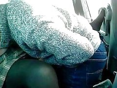 French BBW mom and black lover in car slow fucking_240p