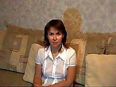 Enseignant mûre Russie entraîne leçon sexy ! Vidéo amateurs !