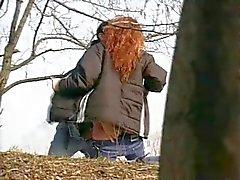 Very Hornt Redhead Teen Girl Outdoor Sex Spy Cam