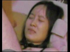 Китайский любитель черного чулка шлюха
