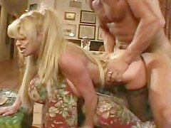 Taylor Wane gets a cumload on her tits