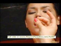 Maria Ozawa and Yuka Osawa innocent Chinese girls licking