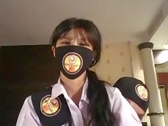 Thai student live on facebook