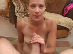 Cute Blonde Suck & Fuck