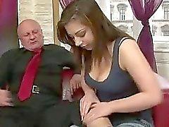 Andi knullar horn grandpa