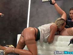 Gloryhole flator slimed