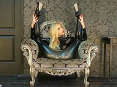 Flexible Zlata & Legs Behind Head - Latex & Sexy High Heels