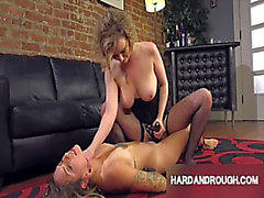 Whipped Butt Lesbo Femdom S&M Compilation