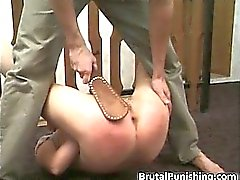 Hard-core fetish and brutal punishement