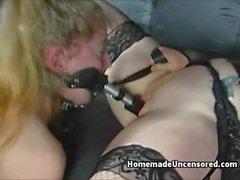 Homemade FemDom Bondage Couple