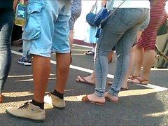 jeans, shorts, skirt