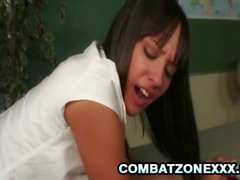 Horny Teen Nadia Aria gets fucked by her teacher
