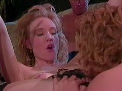Alicyn Sterling and Rebecca make Peter North explode