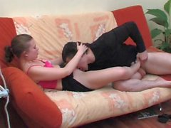 Alana und Silvester - Foot and fuck