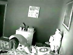 Mother Caught Masturbating By A Hidden Camera