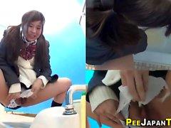 Vero e sexy pissing asiatico