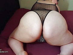 BBW Lingerie Fat Ass Shakes