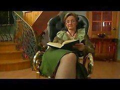 Granny körd i stolen