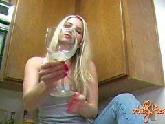 Spit Trinken Weibchen