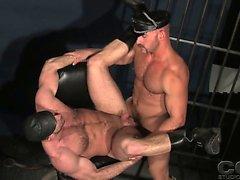 Kullanıcının tam deri vites hapishanesinde Samuel Colt ile Shay Michaels