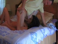 Milf Fucking with Guy Watching