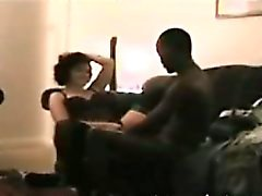 Spying milf Wendy with Black fuckbuddy