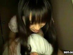 Mio Hiragi japanska hardcore gör henne s jag är
