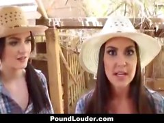 Best Friends - Hot Country Girls Share A Cock