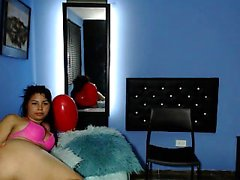 Charley Chase Rouge Lingerie Solo