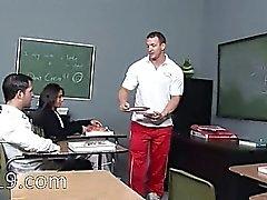 de l'étudiante séducteur tape de la classe