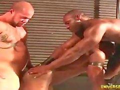 Matt Rush Marc Williams muscle threesome