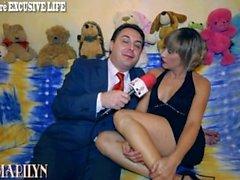 Vauvan Marilynin si masturba con n Wurstel euroa Andrea Diprè