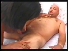 Black tranny tramp ass waxing